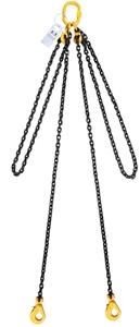 Lifting Chain Sling, 2Leg, WLL 1900kg, 6