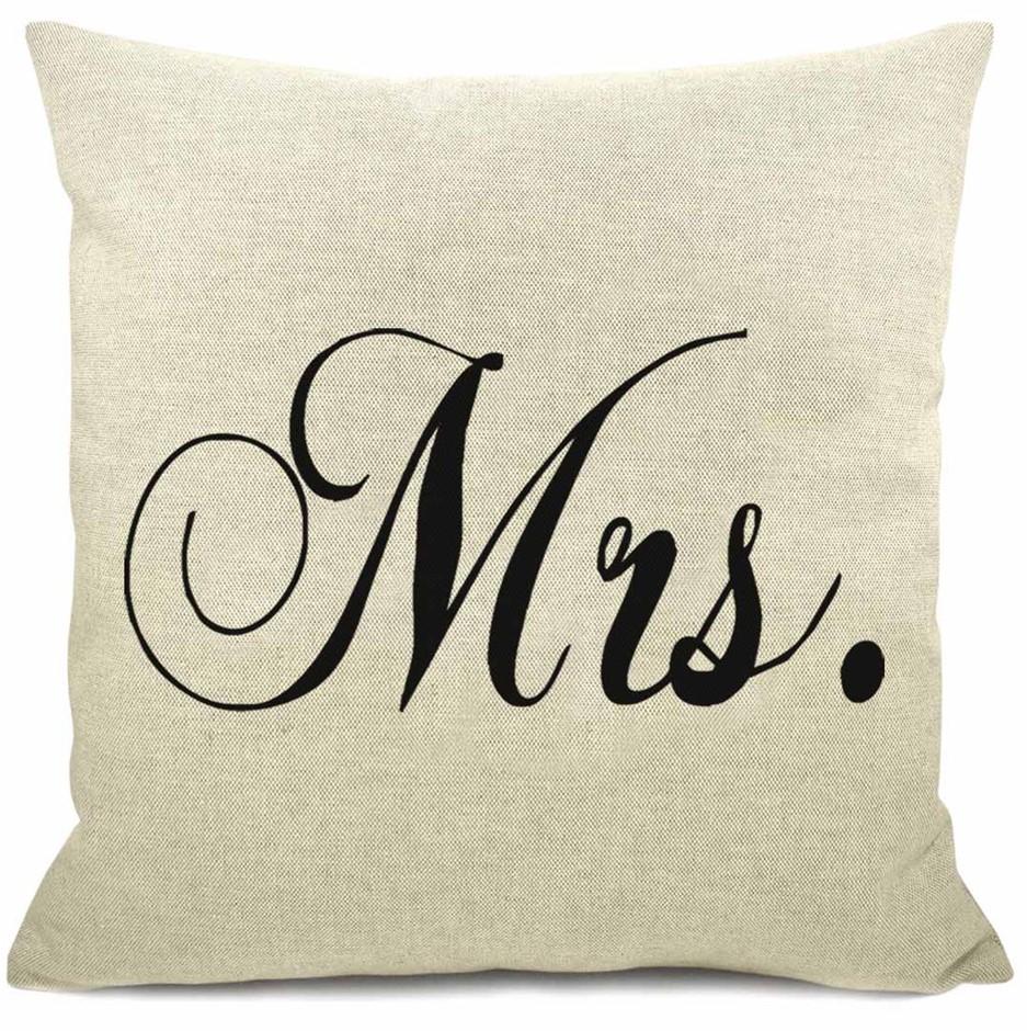 WORD CUSHION - Mrs White