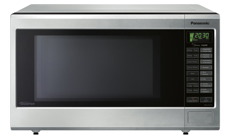 Panasonic 32L Stainless Steel Microwave Oven (NN-ST671SQPQ)