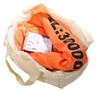 Round Lifting Sling, WLL 30,000kg x 2.5M (with Test Cert). Buyers Note - Di