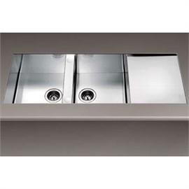 Smeg Undermount Double Bowl Sink - Model LSTQ116NA2 Auction ...