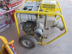 Trash pump wacker pts 4 location whyalla sa auction for 333 south terrace adelaide