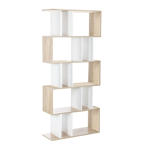 Artiss 5 Tier Display Book Storage Shelf