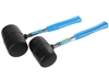 2 x BERENT Rubber Mallets With Steel, 16o & 24oz. Buyers Note - Discount Fr