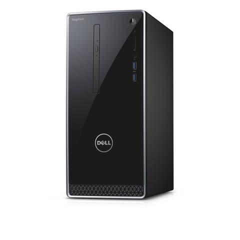 Dell Inspiron 3650 Mini Tower Desktop PC, Black