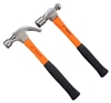 2 x JETECH Ball Pein Hammers, Comprising; 24oz & 16oz with Fibreglass Handl