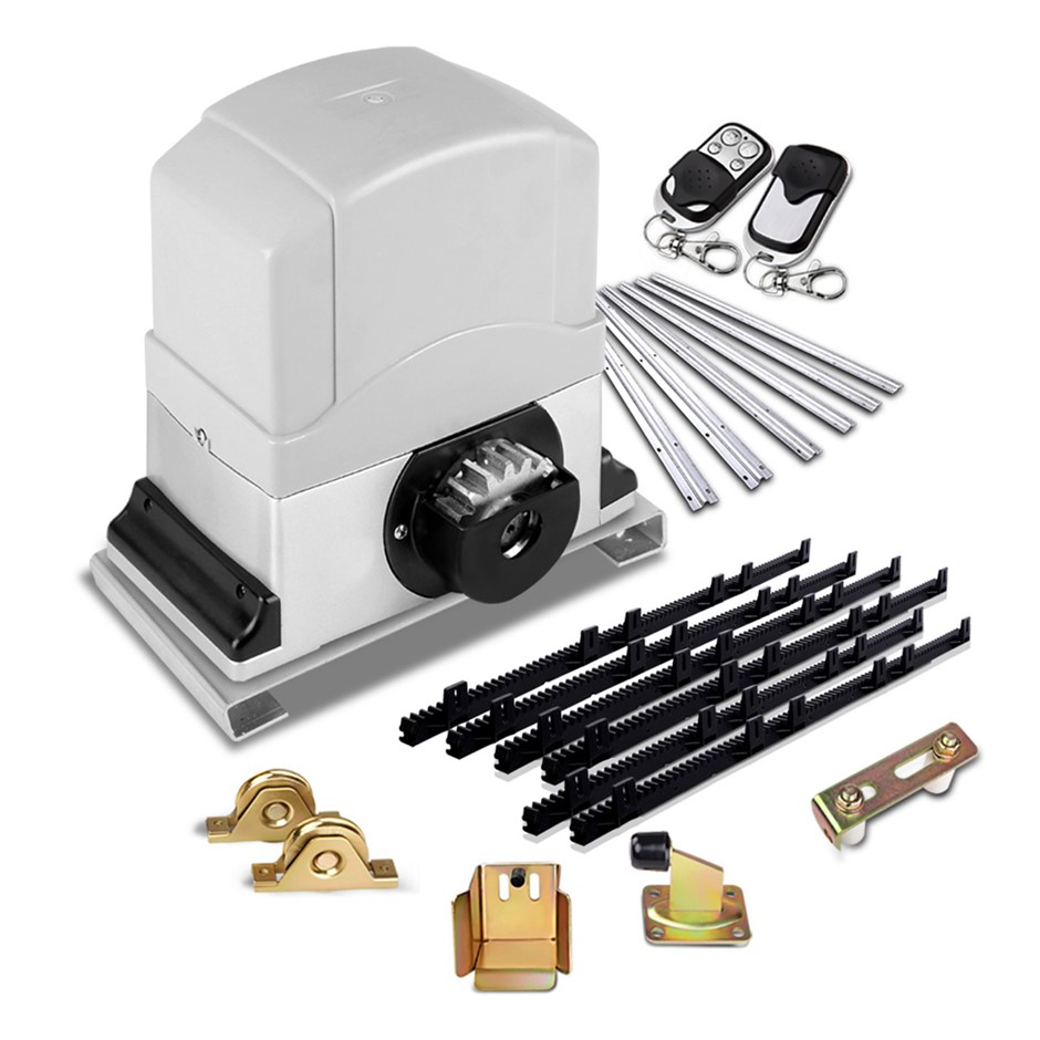 Automatic Sliding Gate Opener - 1200KG - 6M with Hardware Kit