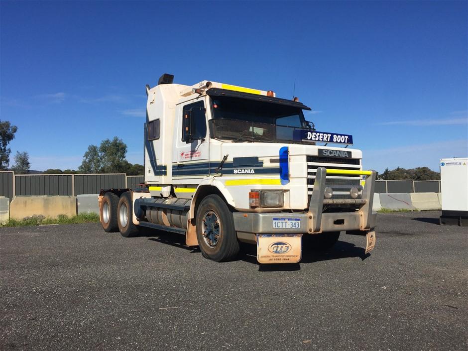 Scania Bonnet Gris Style 5