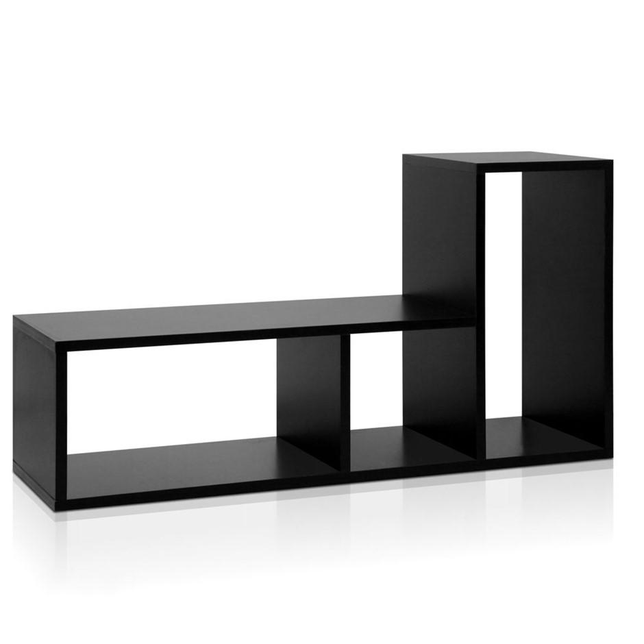 DIY L Shaped Display Shelf   Black. display home furniture for sale melbourne   Graysonline