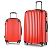 Wanderlite 2 Piece Lightweight Hard Suit Case - Red