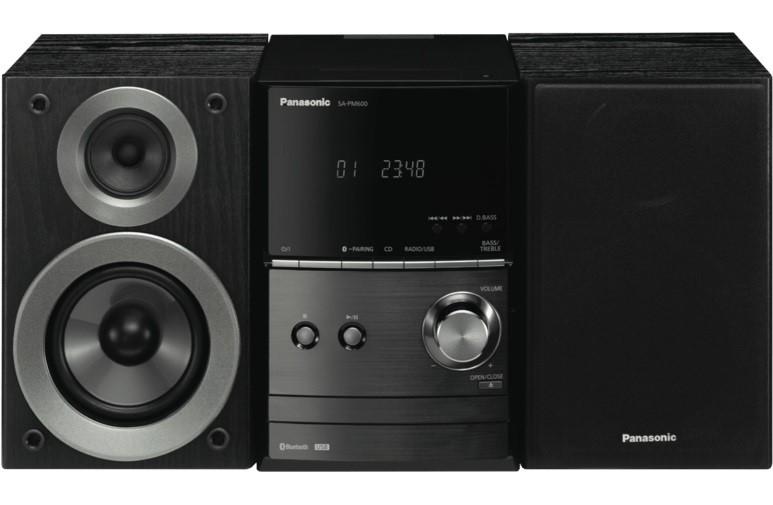 Panasonic Micro Hi-Fi System SC-PM600GN-K