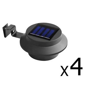 Set of 4 Solar Powered Sensor Lights - B