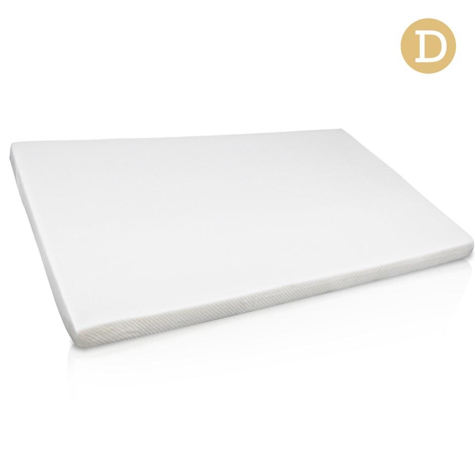 Visco Elastic Memory Foam Mattress Topper 7cm Thick Double