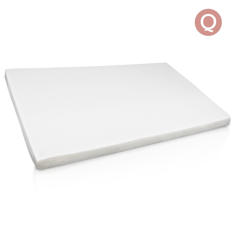 Visco Elastic Memory Foam Mattress Topper 7cm Thick Queen