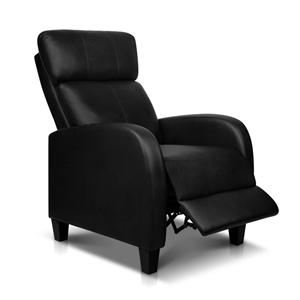 Artiss PU Leather Reclining Armchair - B