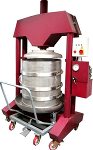 Cider Press For Sale >> Wine And Apple Cider Press Sirio Electric Hydraulic Basket Press