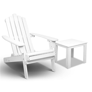 Gardeon 2 Piece Outdoor Chair and Table