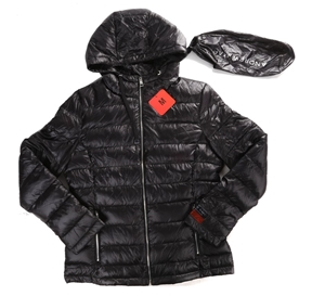 7b7ba8d57d3 ANDREW MARC Ladies Quilted Packable Down Hooded Jacket