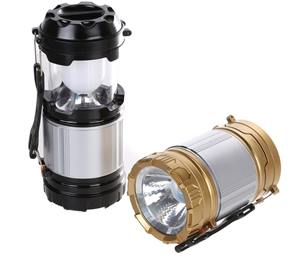 2 x LED Camping Lanterns, Extendable wit
