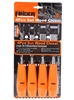 FINDER 4pc Wood Chisel Set 6, 12, 19 & 25mm. Buyers Note - Discount Freight