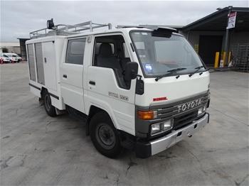 Sagov Toyota Dyna 200 Service Truck Amp Holden Rodeo Lx Ute
