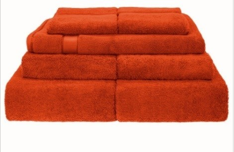 BeddingCo 700GSM Egyptian Cotton 7 Piece Towel Set - Burnt Ochre