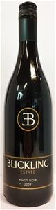 Blickling Estate Pinot Noir 2009 (12 x 7
