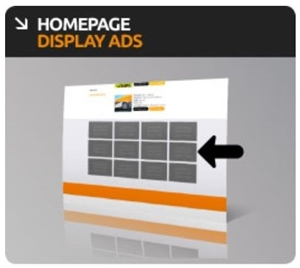 Website Homepage Display Ad Banner