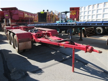 2014 Road West Transport Tri Axle Dolly