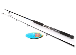 Ugly stik gold 6ft 6in spinning fishing rod 2pc action for Light action fishing rod