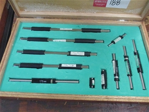 Mitutoyo Micrometer Calibration Test Bars