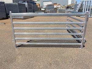 Buy 20 X Sheep Gal Panels 6 Rail 1 05m High X 2 2m Long