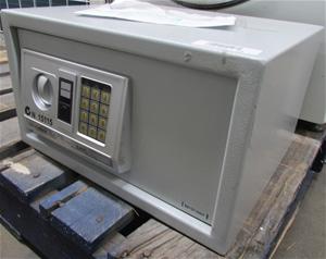 Sandleford Electronic Safe, Digital Key Pad, Grey Metal Finish, No Accessor