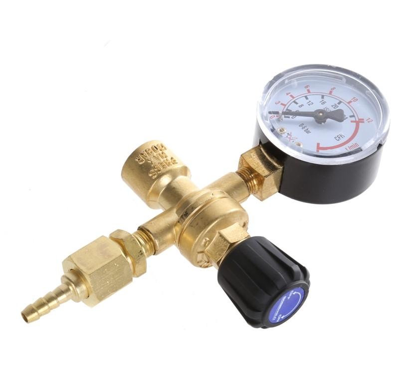 BOSSWELD Gas Regulator for Disposable Bottles. (264504-160)