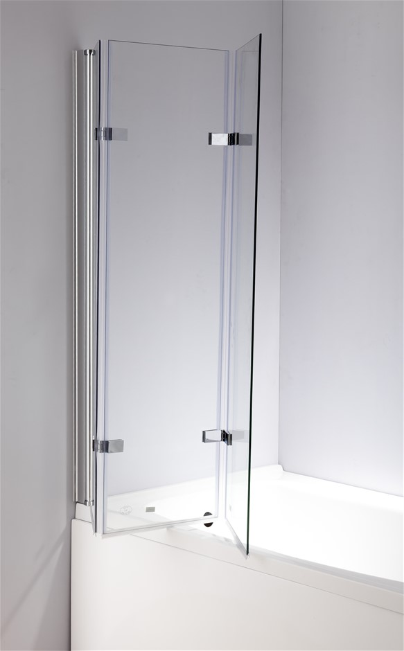 Frameless shower screens prices products graysonline for 1300mm shower door