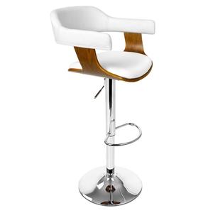 Artiss Wooden Bar Stool - White