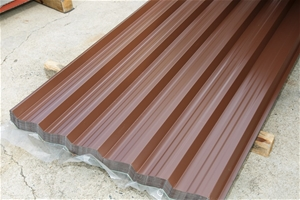 91x Colorbond fencing sheets, Gatorline, Bowral Brown, 1790mm