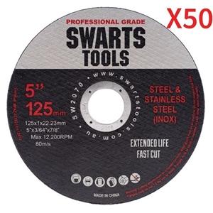 """50 X 5"""" 125Mm Cutting Disc Wheel Thin An"""
