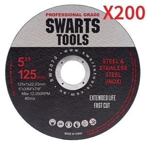 """200 X 5"""" 125Mm Cutting Disc Wheel Thin A"""