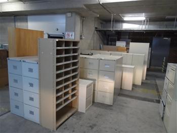 Unreserved Office Furniture TAFESA Adelaide