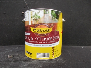 Cabot 39 S Deck Exterior Stain Oil Based 4 Litres Beach House Grey Auction 0029 3133150