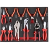JMV Insert Drawer 11pc Plier Set. Contents: See Image. Buyers Note - Discou