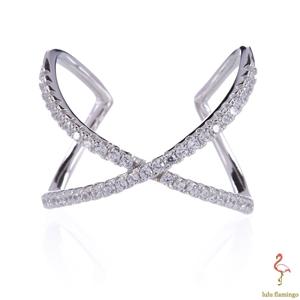 NEW Lulu Flamingo Sterling Silver Cubic