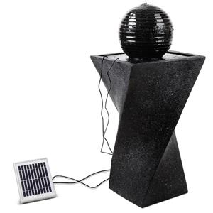 Gardeon Solar Powered Water Fountain Twi