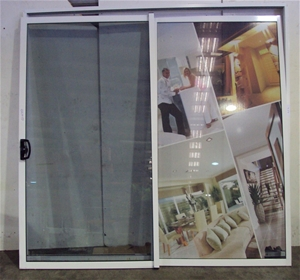 aluminium sliding glass doors auction 0026 7106618 graysonline