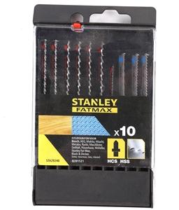 STANLEY FatMax 10pcs Jig Saw Blades. N.B