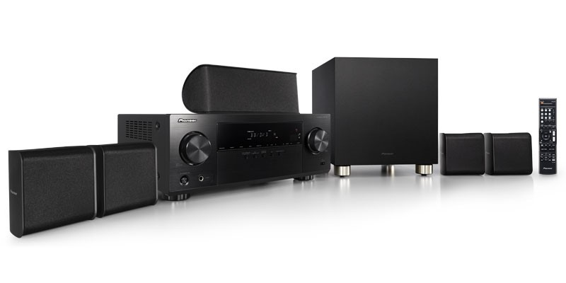Pioneer HTP074 51 AV Receiver And Speaker Package Black