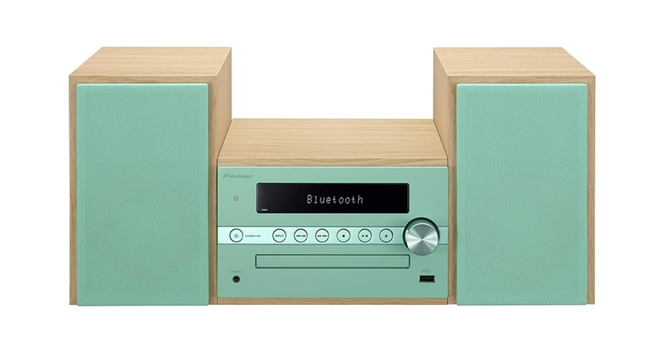 Pioneer CM56DGR HI-FI CD Receiver System with DAB+ (Green)