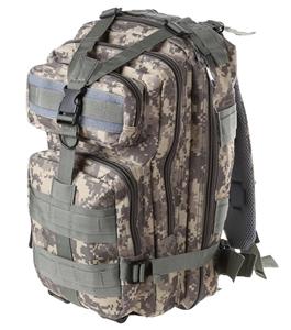 Camo Outdoor Back Pack 44cm x 30 cm x 22