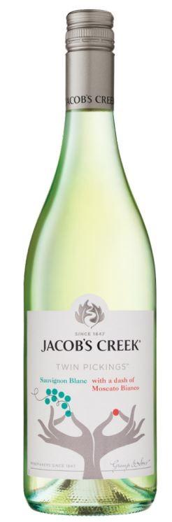 Jacob's Creek Twin Pickings Sauv Blanc Moscato Bianco 2018 (6 x 750mL)